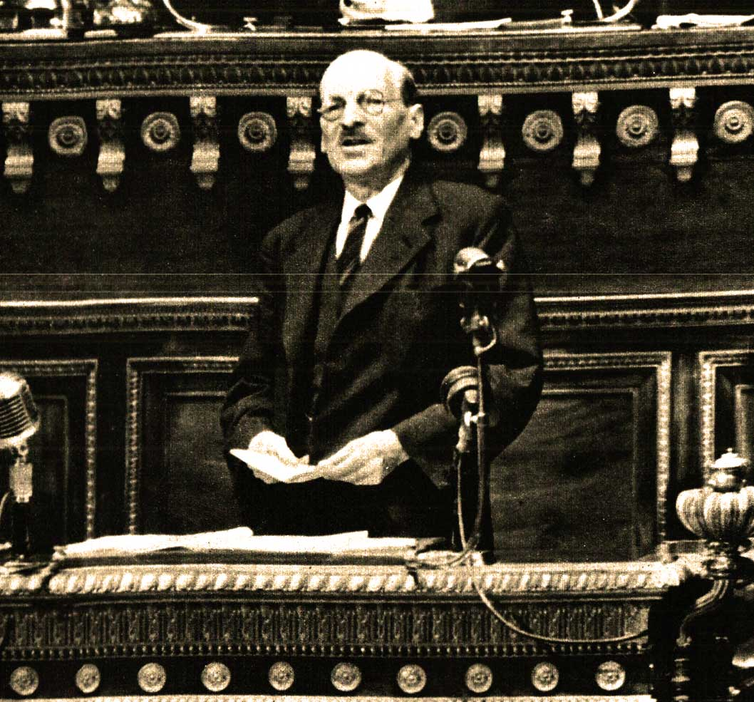 The Pessimism From Downing Street – Clement Atlee On The Economic Crisis – August 10, 1947