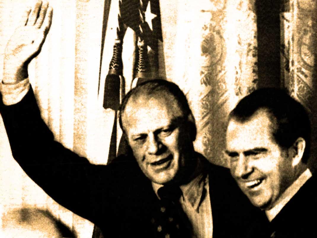 Ford - Nixon- Watergate