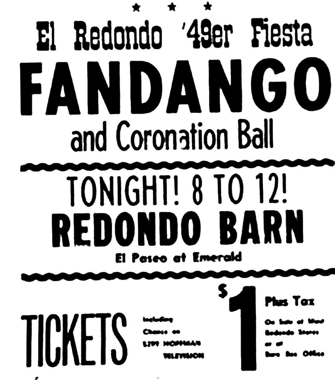 A Night At The Redondo Barn – Redondo Beach – 1948 – Past Daily Pop Chronicles