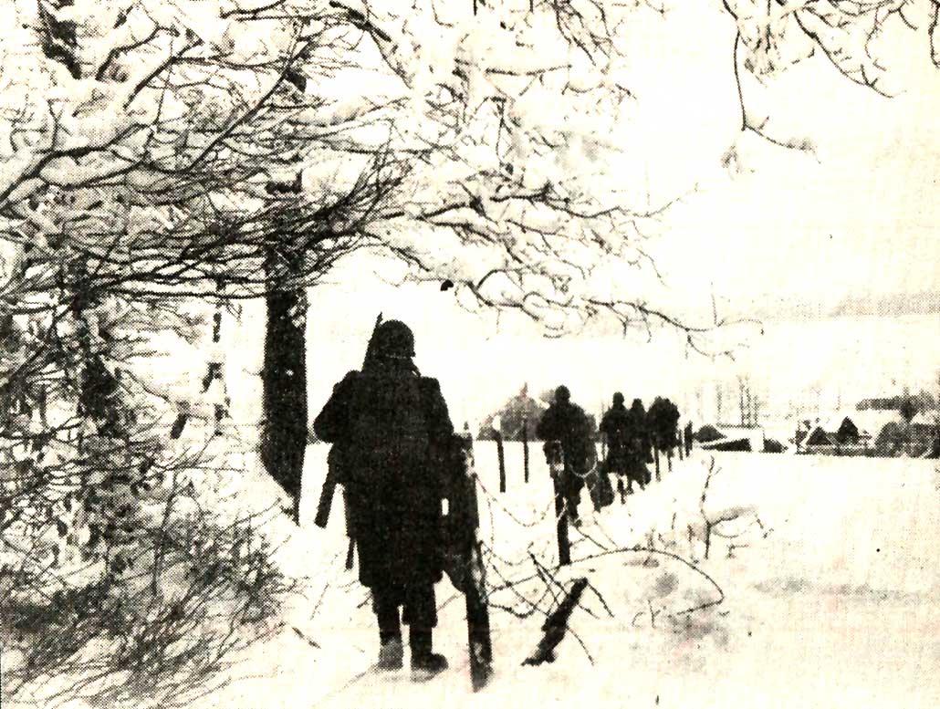 Pushing East – Walking In Winter – January 28, 1945