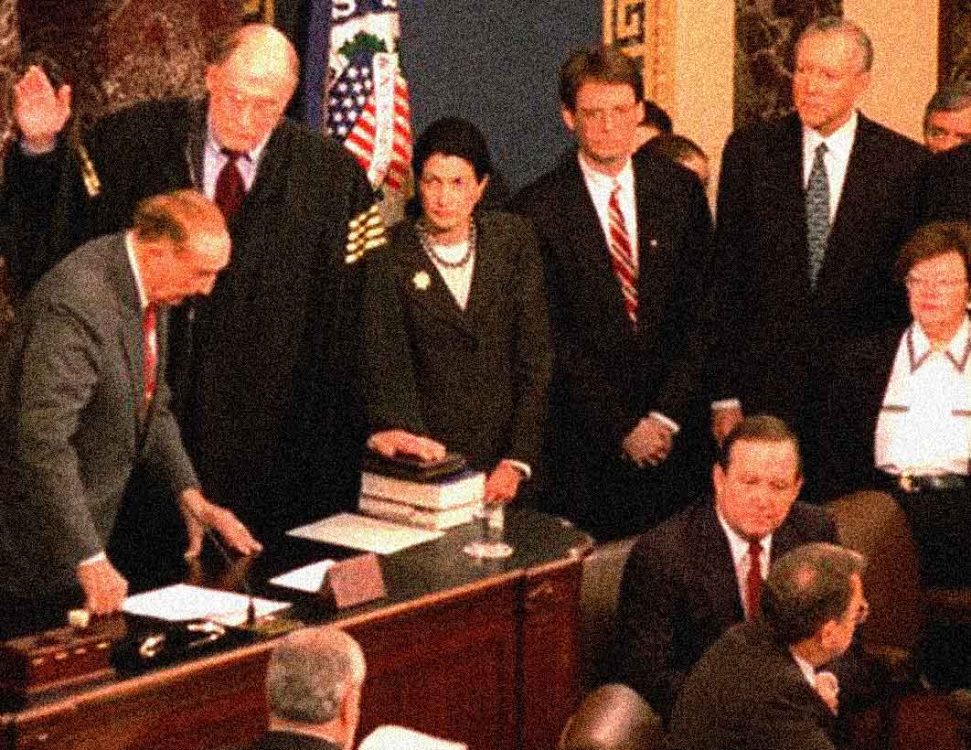 January 14, 1999 – The Circus Comes To Town – Clinton Impeachment Trial Begins