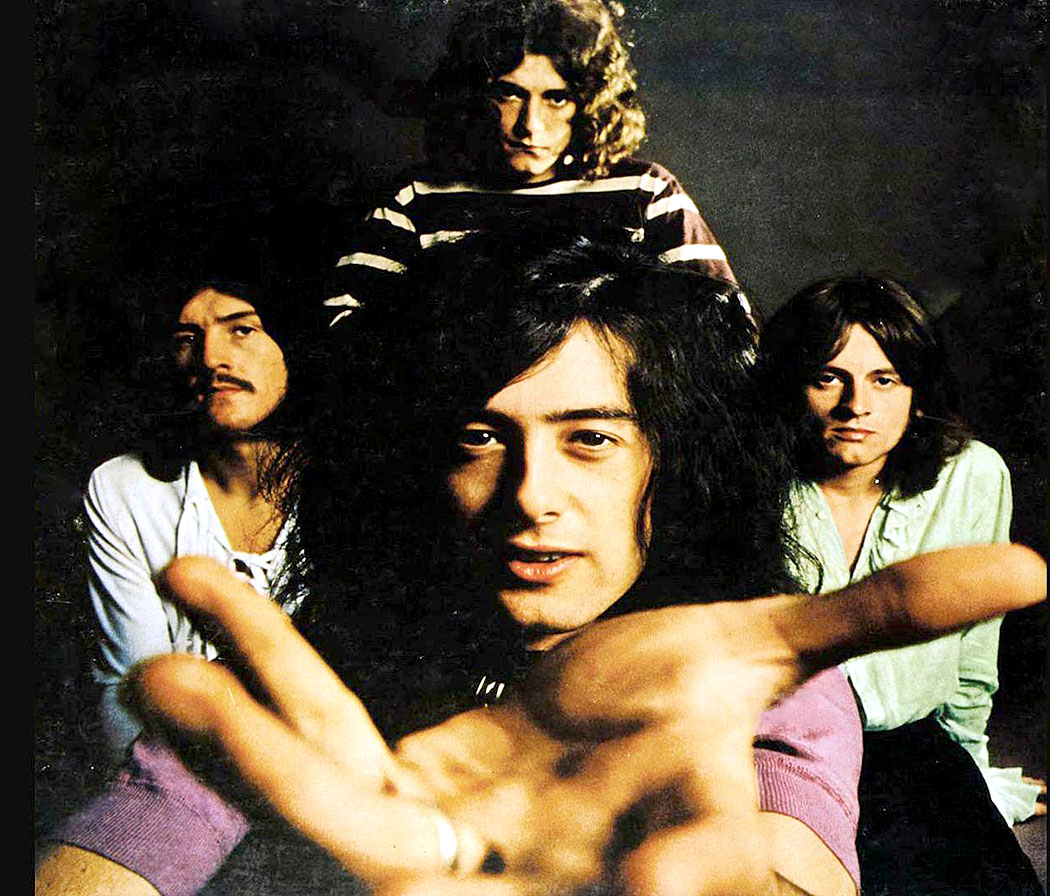 Led Zeppelin in concert 1971