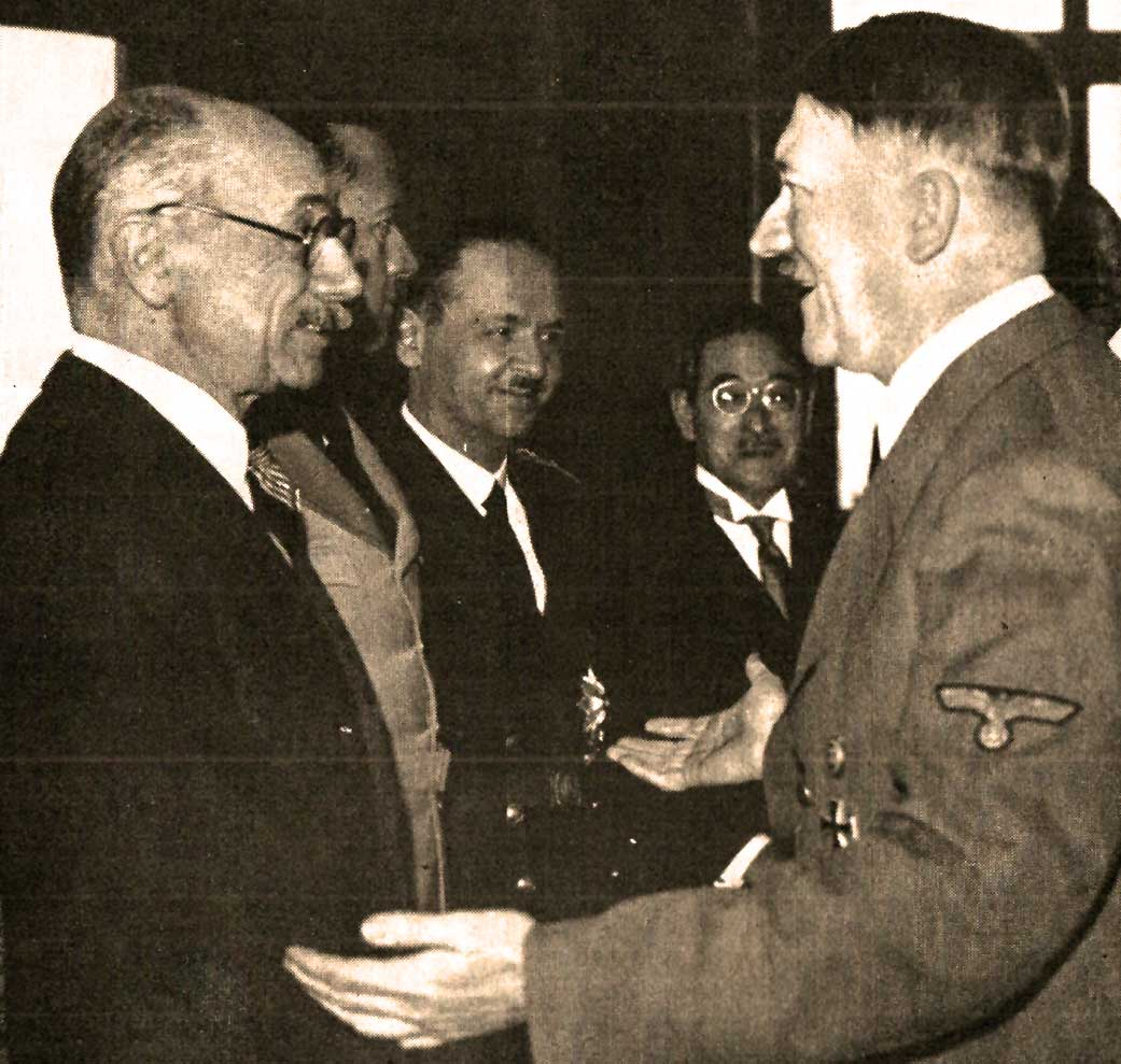 Count Taleki and Hitler - 1941