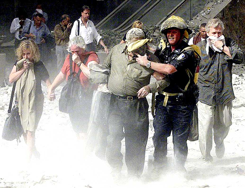 September 11, 2001 – As The Smoke Cleared – As The Senses Numbed – Later On That Day