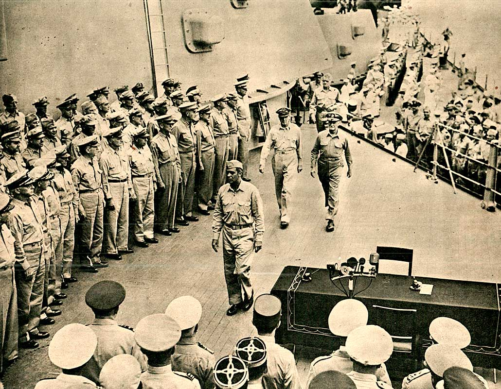 September 1, 1945 – Closing Chapter – Surrender Ceremonies And The End Of World War 2