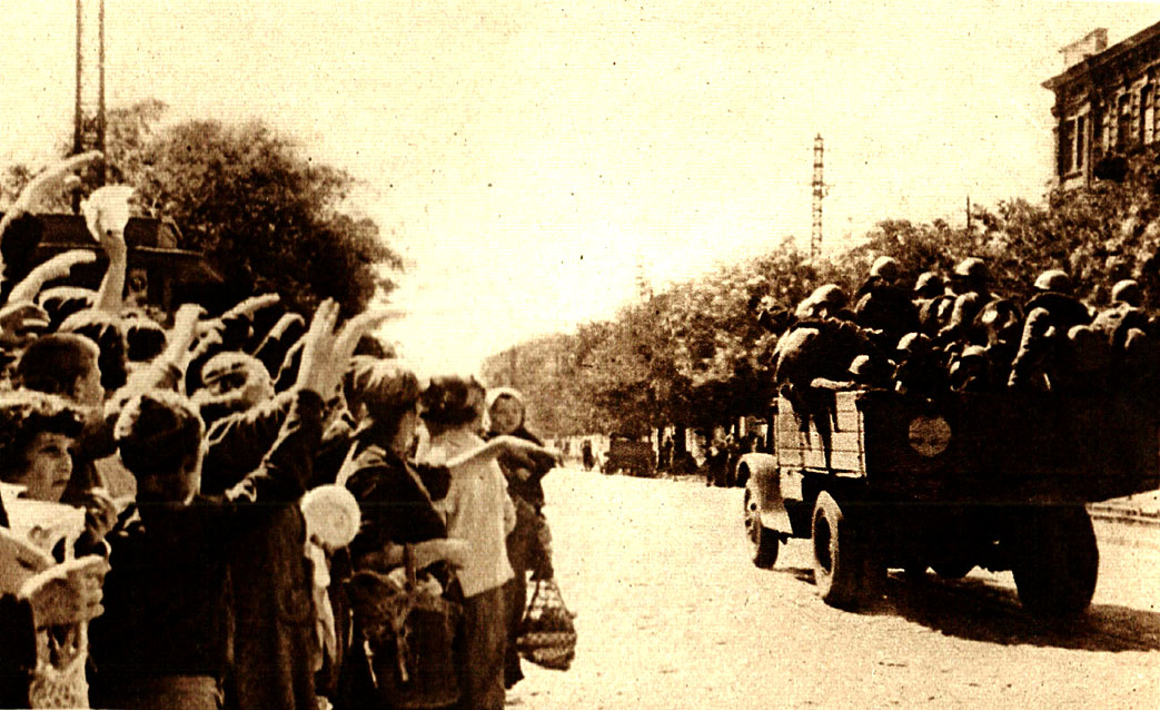 Soviet Troops Heading to the Front
