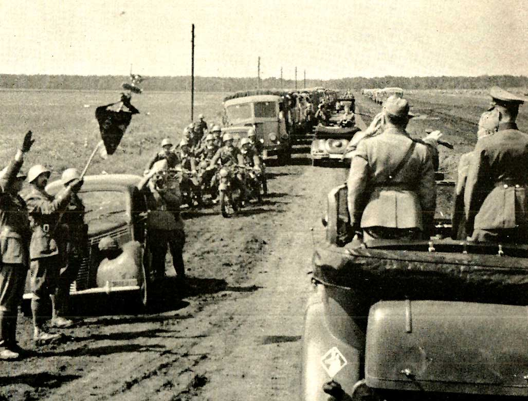 German advance to Moscow