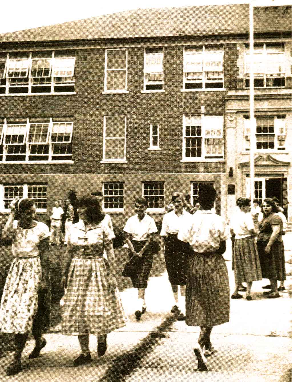 In 1948 Schools Were Overcrowded  – Past Daily Reference Room