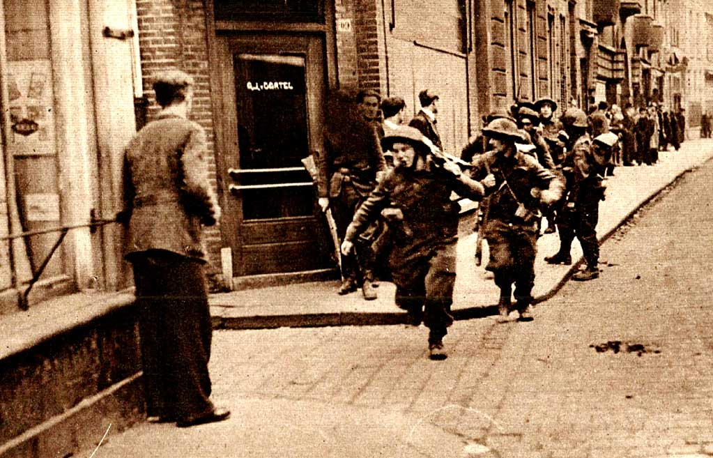 A Week of War: British Troops in Holland