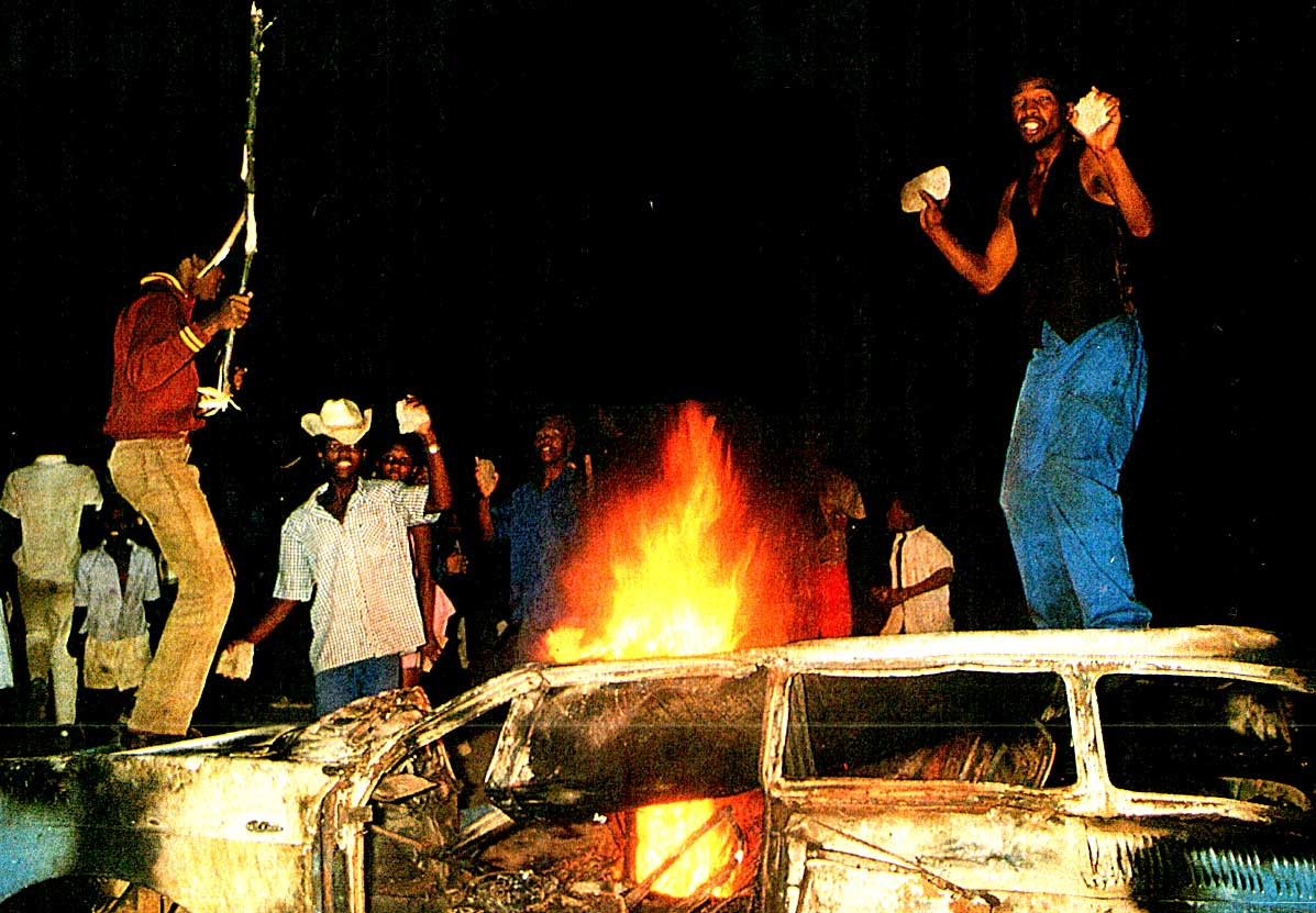 March 23, 1985 – Enflamed Political Passion Of The Apartheid Kind