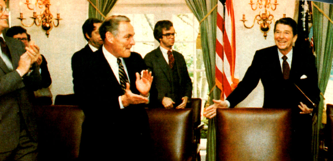 April 28, 1981 – A President Returns To Capitol Hill