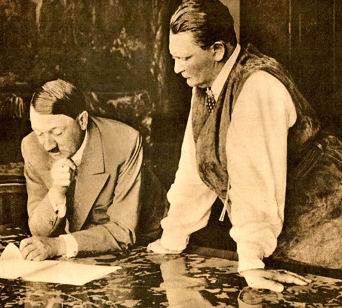 Hitler and Göring - 1938