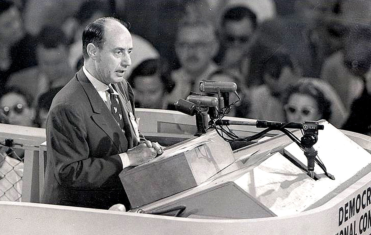 Adlai Stevenson – Address To The 1960 Democratic Convention – Past Daily Convention Snapshot