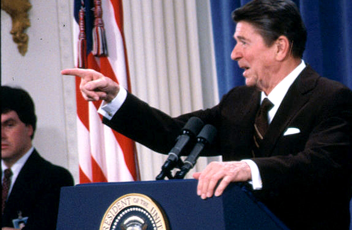 Pres. Reagan Press Conf.