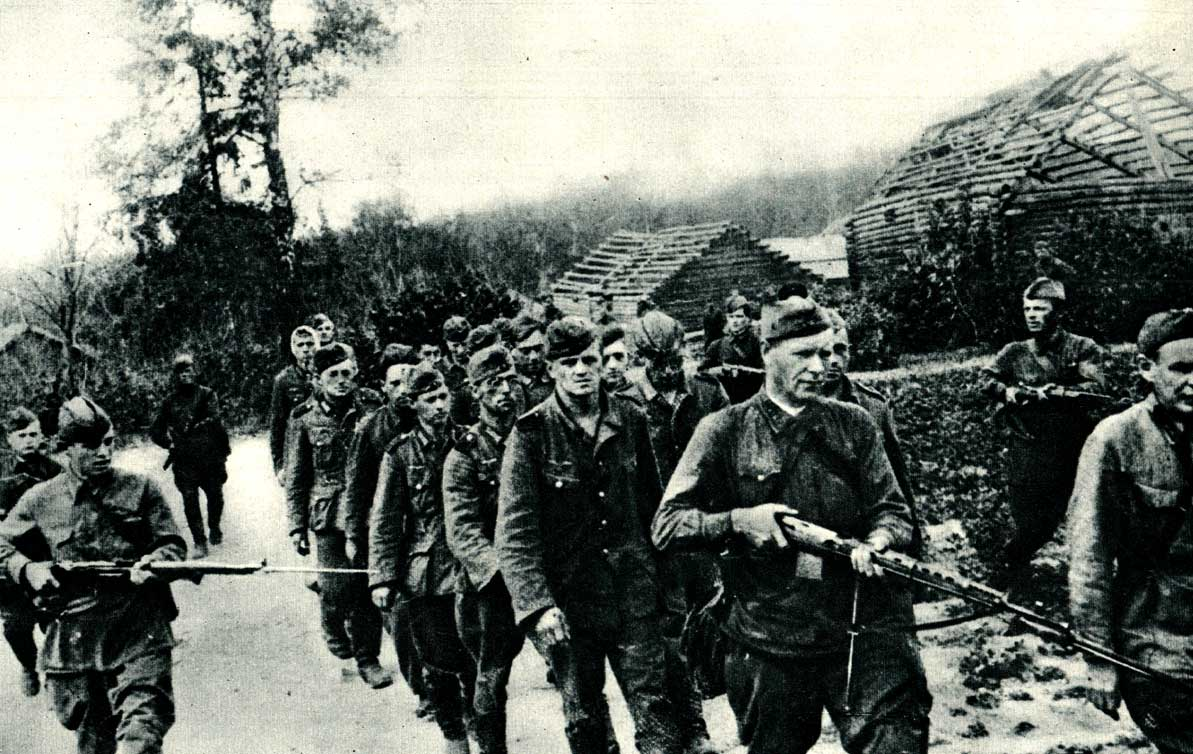 September 1, 1941 - German prisoners in Russia