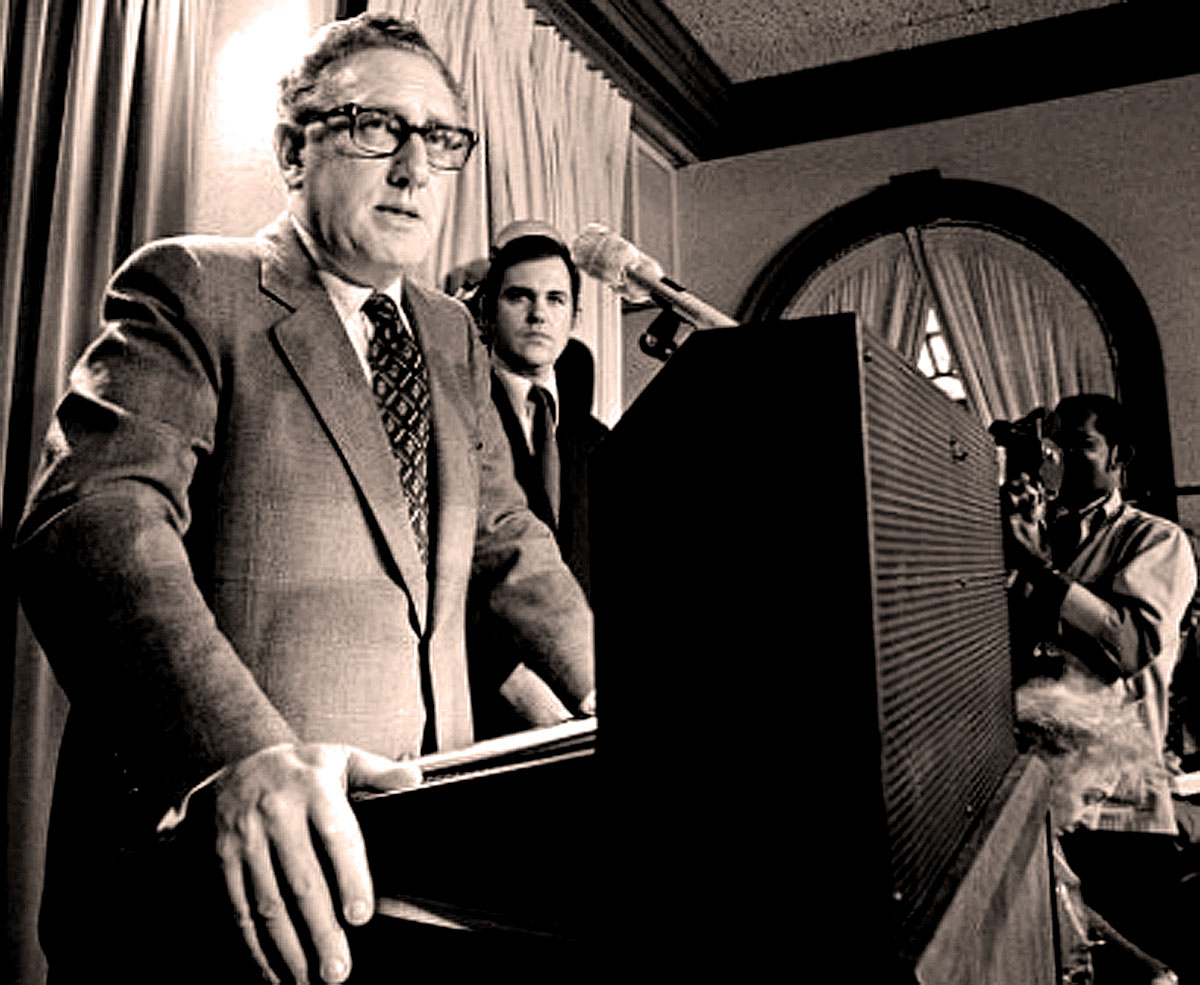 """October 26, 1972 –  Henry Kissinger: """"We Believe. . .That Peace Is At Hand"""""""