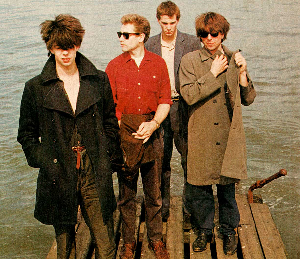 Echo & The Bunnymen – In session – 1979 – Past Daily Soundbooth