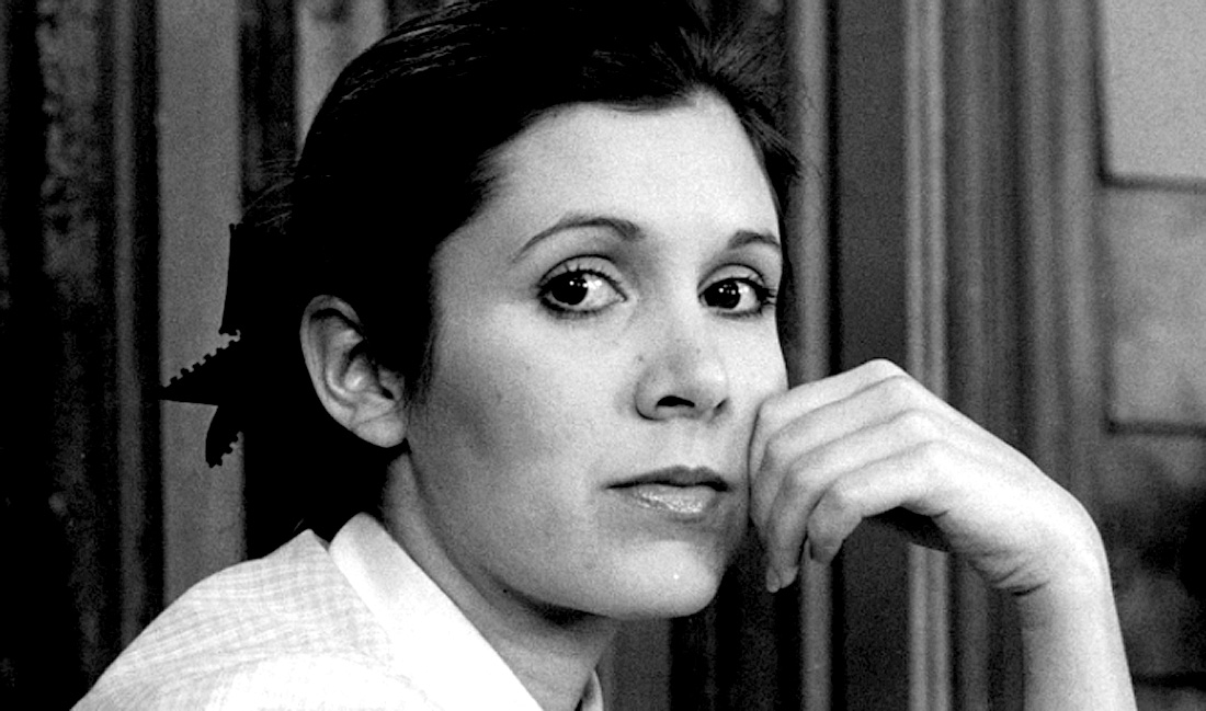 An Interview With Carrie Fisher – (RIP Carrie Fisher: 1956-2016)