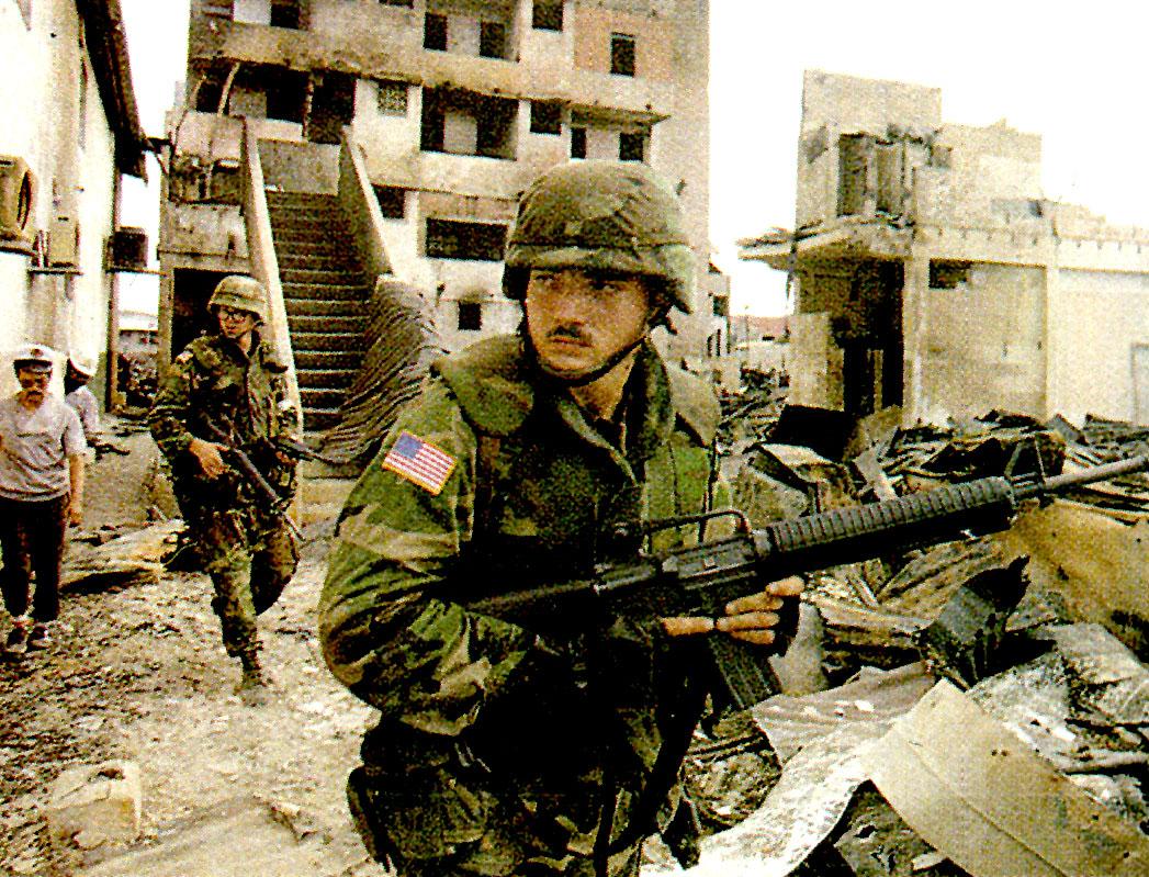 December 20, 1989 – Deposing Noriega