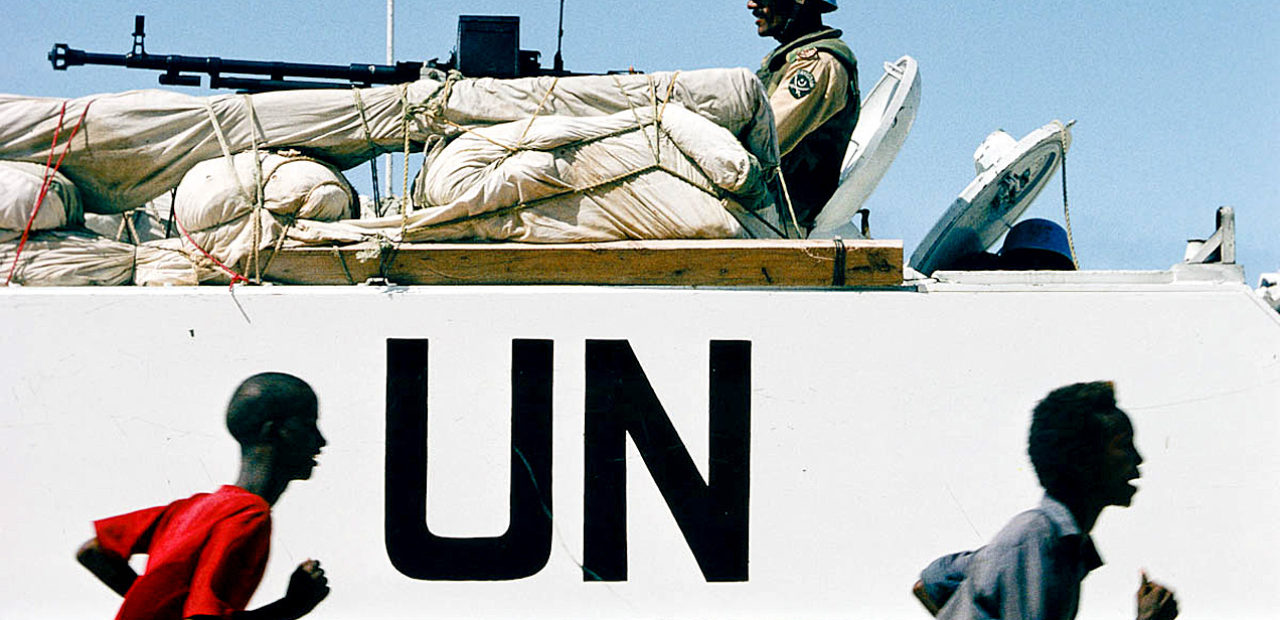 UN Troops in Somalia