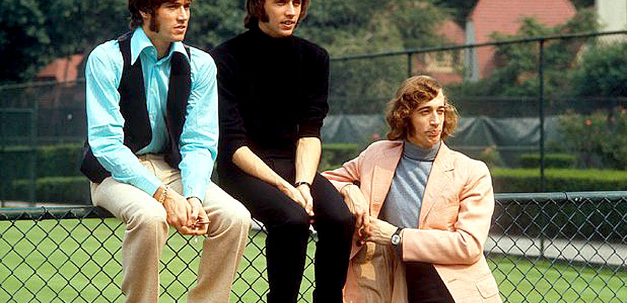 The Bee Gees in 1971