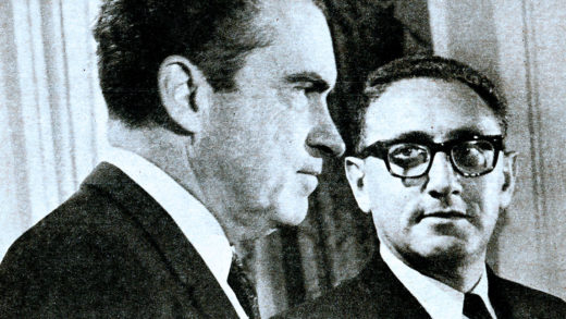 Nixon - Kissinger 1969 - Foreign Policy was going to be a bit different in the months ahead