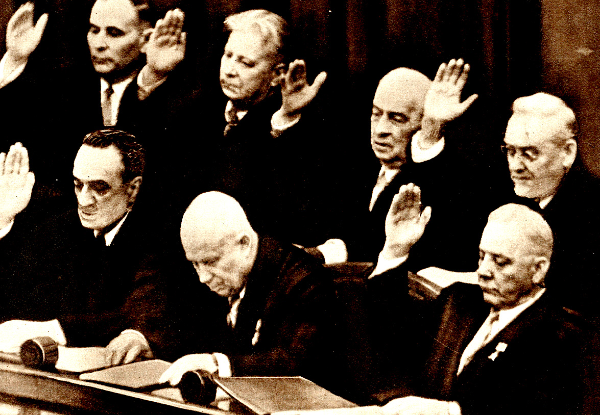 Nikita Khrushchev 1958