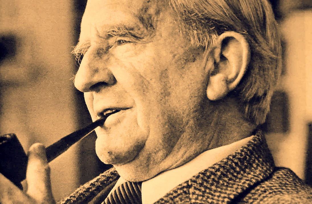 The Man Who Invented Hobbits – JRR. Tolkien – Past Daily Weekend Gallimaufry