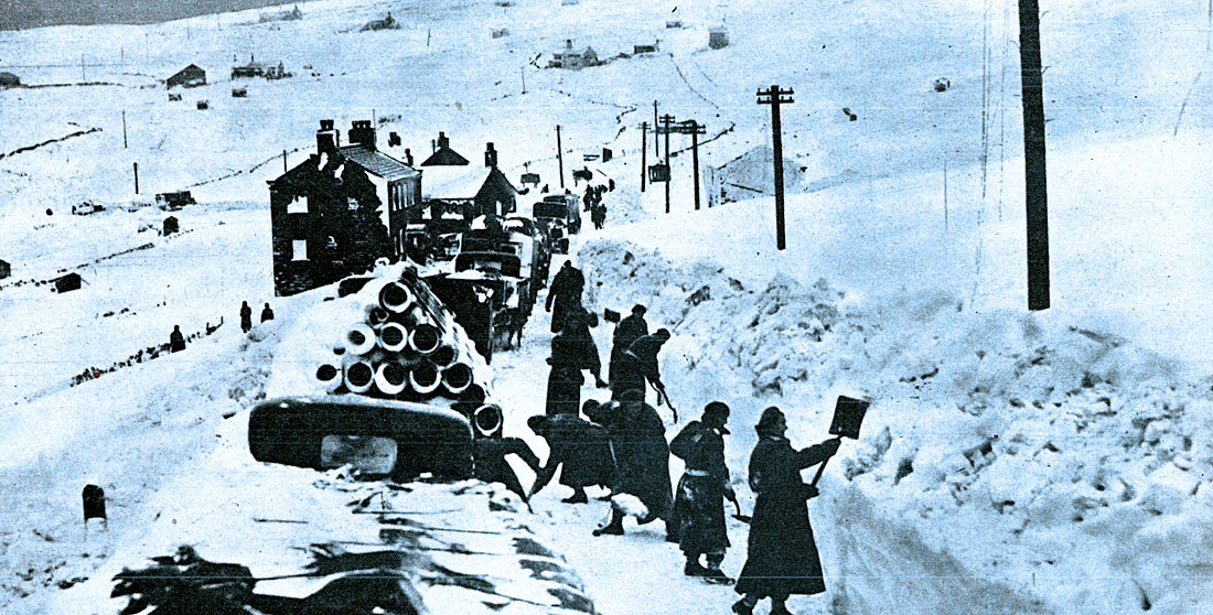March 6, 1947 – Peace Conference And Snow Ploughs