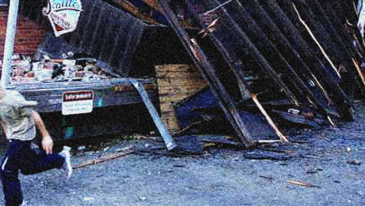 Seattle Earthquake damage
