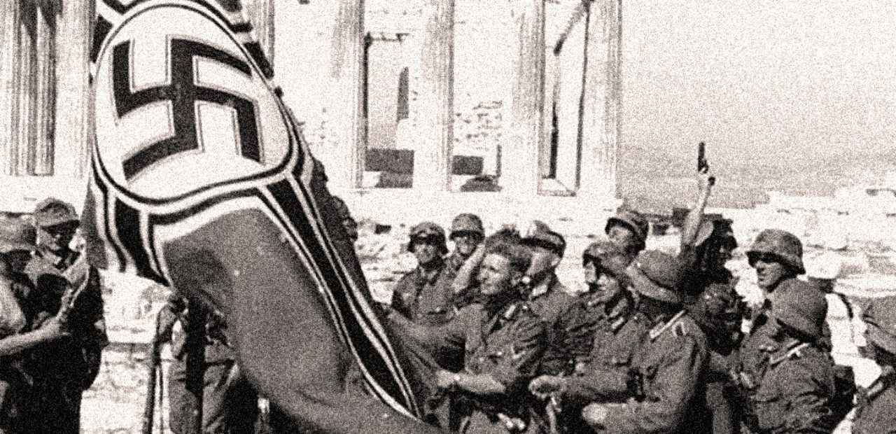 German Army in Athens 1941