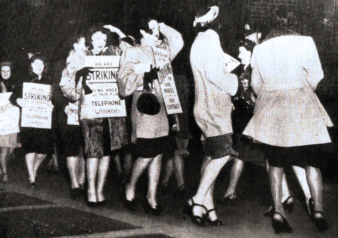 "April 12, 1947 – ""We're Settling Down For A Long Strike""."