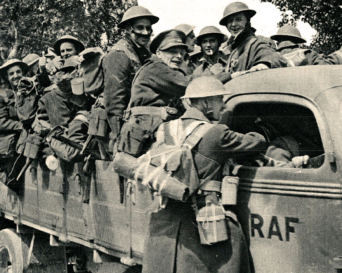 British withdrawal from Greece - May 1941