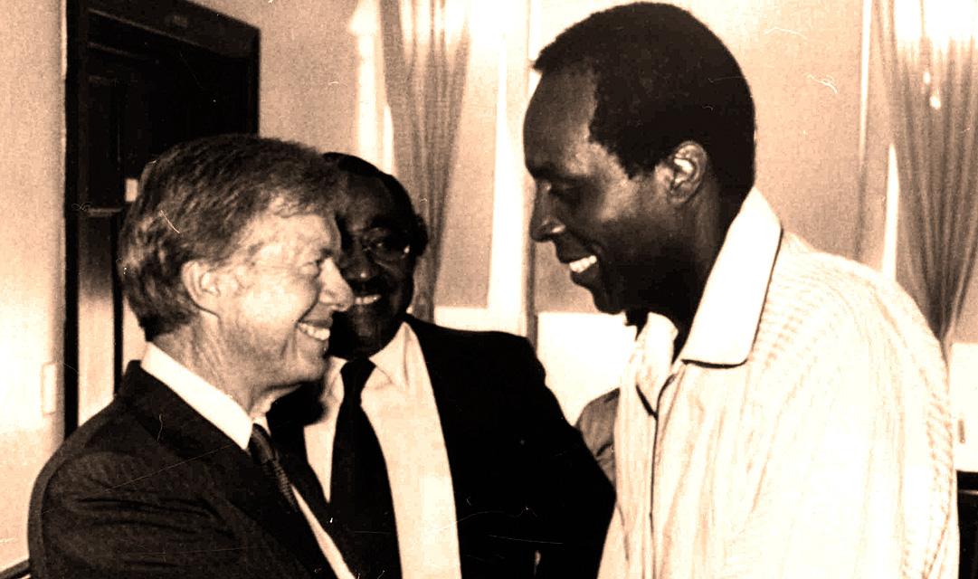 June 1, 1980 – Jimmy Carter Visits Vernon Jordan: Serious But Stable