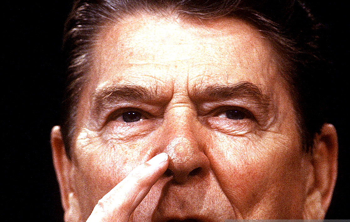 July 31, 1987 – Disasters, Family Planning And The Reagan Nose