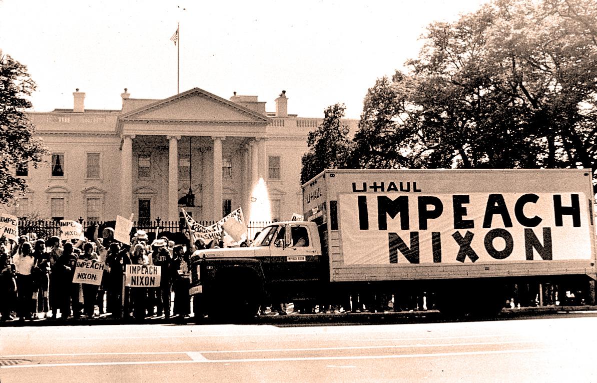 Nixon Impeachment vote