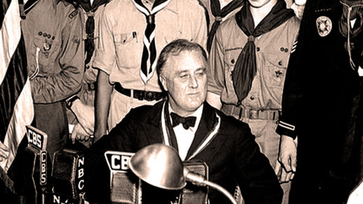 FDR Addresses Boy Scouts- 1937