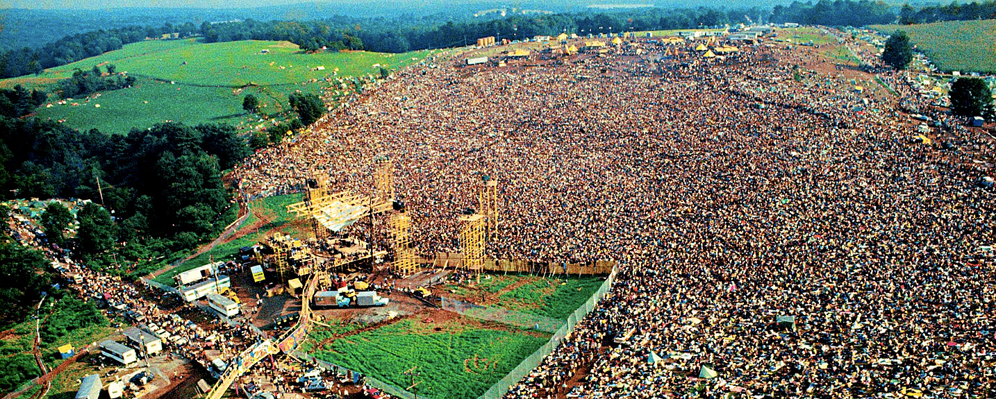 August 16, 1969 – A Big Rock Festival In The Little Helpless Town Of Behtel – Woodstock
