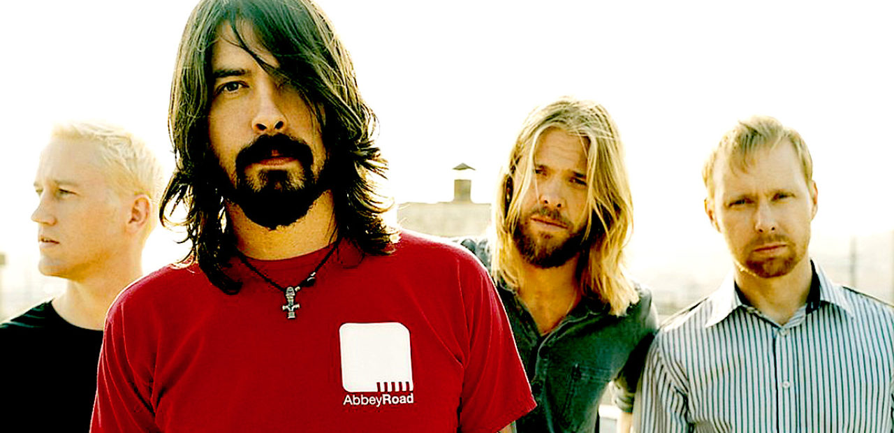 Foo Fighters live at Glasto2017