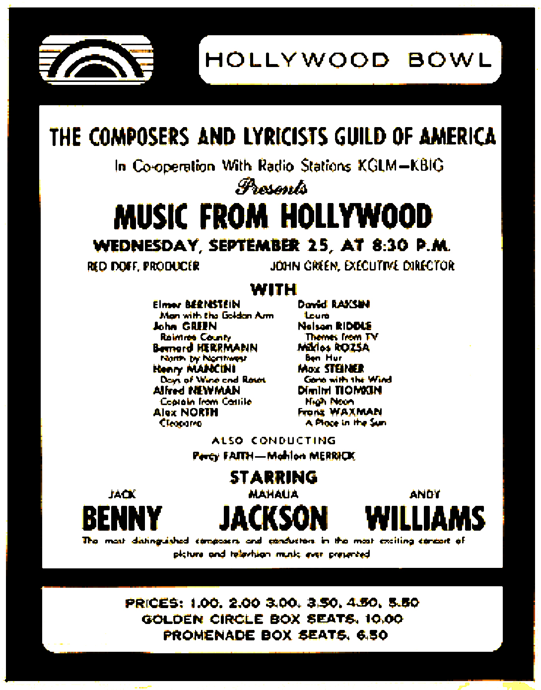 Music From Hollywood 1963