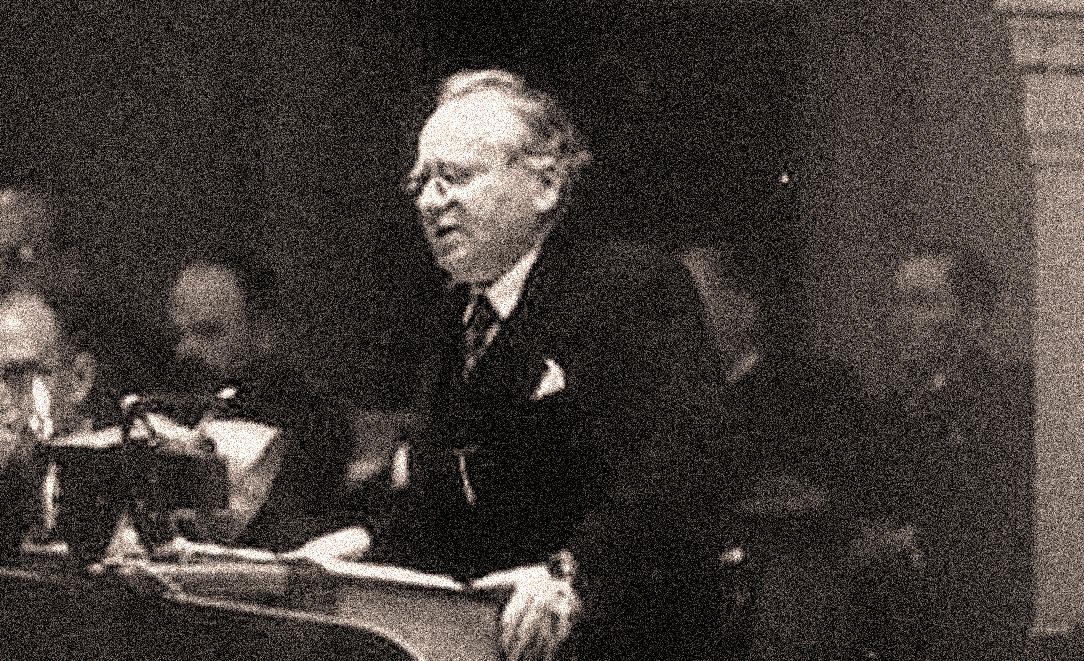 Soviet Foreign Minister Maxim Litvinov - 1938