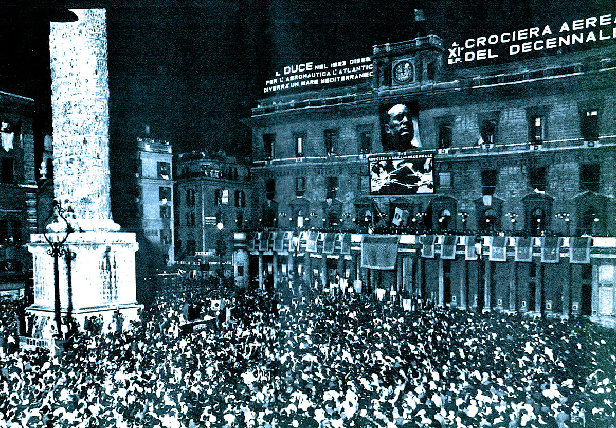 September 18, 1938 – Italy Joins The Crisis – Mussolini Gives Hitler A Thumbs-Up –