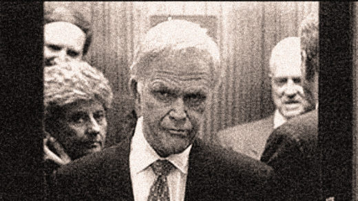 Sen. Bob Packwood - Disgruntled Deer in the headlights