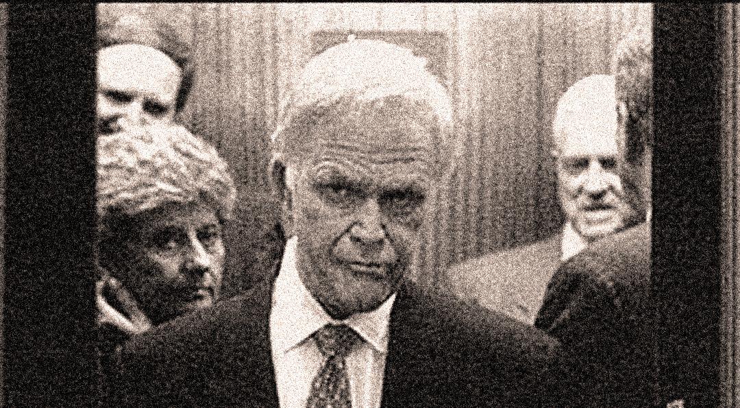 Sen. Bob Packwood - Disgruntled Deer in the headlights