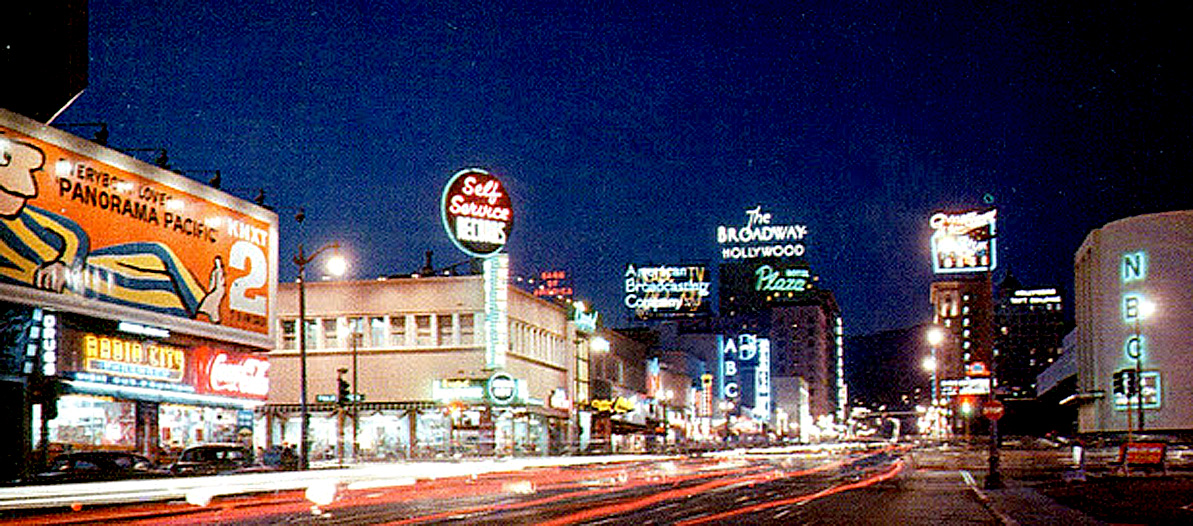 L.A. In 1962 – Megalopolis At Night – KNX Visits The Potted Pigeon And Asks About The food – Past Daily Weekend Pop Chronicles
