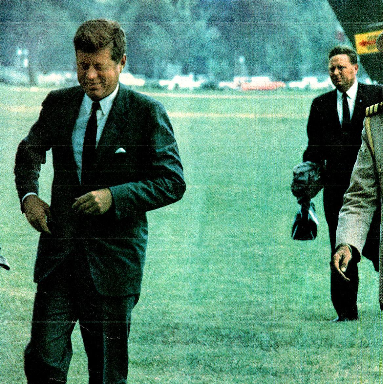October 17, 1960 – Senator John F. Kennedy At Wittenburg University, Springfield Ohio – Past Daily Reference Room