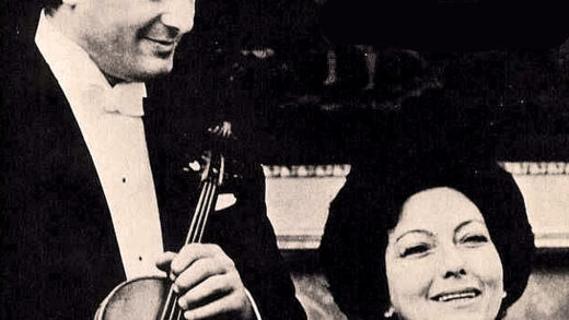 Franco Gulli and Enrica Cavallo