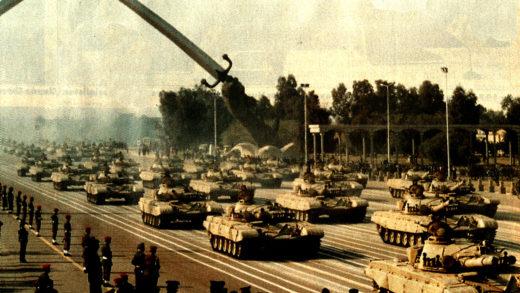 Iraq Military parade