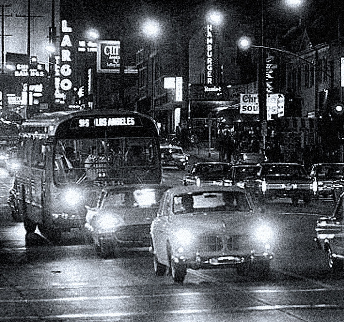 You Live In L.A. – It's Midnight In November – It's 1979 – And The Hullaballooer Is Keeping You Company