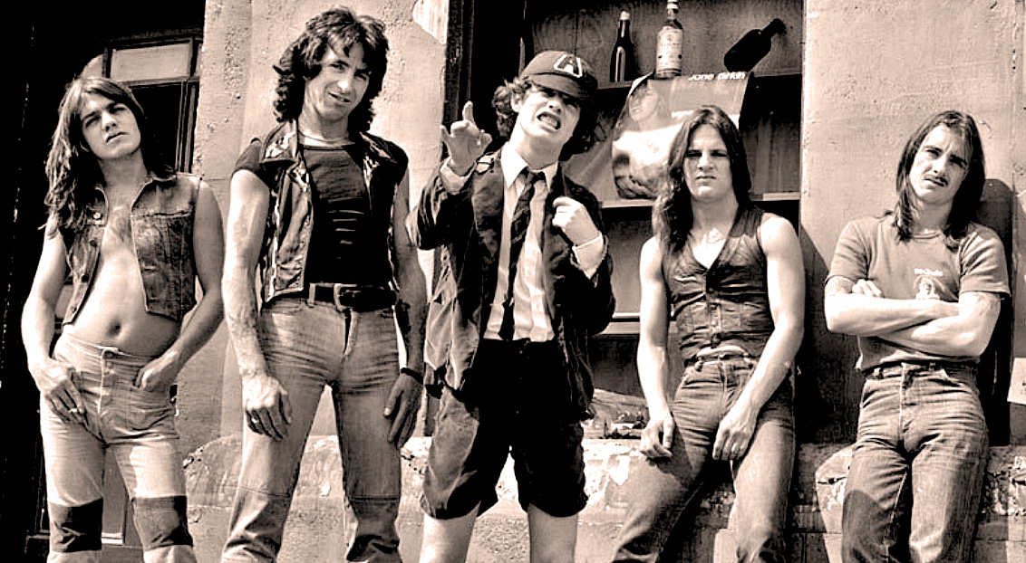 AC/DC – In Concert From Golders Green, London – 1977 – RIP: Malcolm Young -Past Daily Backstage Weekend